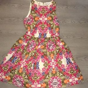 Maggy London Floral Dress size 10